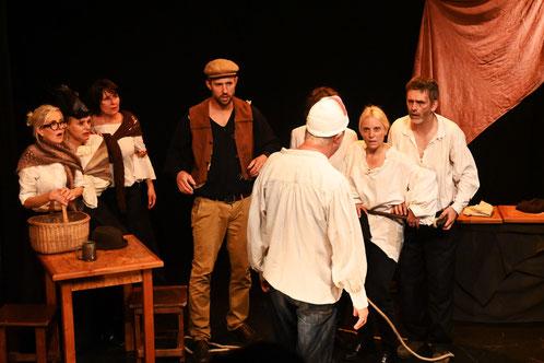 Cours théâtre à Bruxelles masques commedia dell'arte