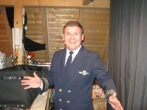 Pierre Ruby  war 2012 mit seiner Amanda zu Gast in der Weindunstbühne