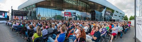 Open Air auf der Piazza: SWR3-Top-Comedian Christoph Sonntag
