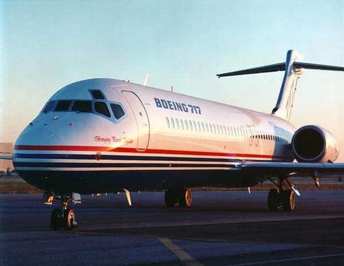 Ab Januar 1998 als Boeing 717 bezeichnet/Courtesy: Boeing