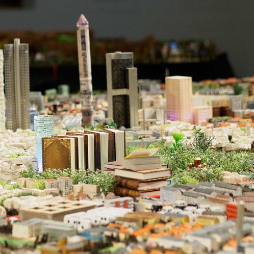 Die Goethe-Universität im Stadtmodell Frankfurt