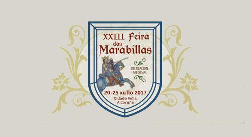 Programa de la Feira de las Marabillas en A Coruña