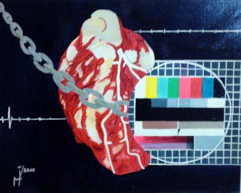sendeschluß bild kunst gemälde farbig tot