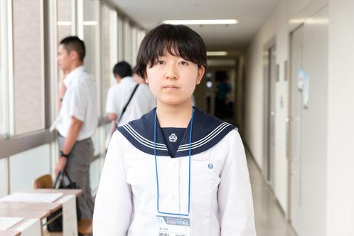 浦松彩乃さん(3年)