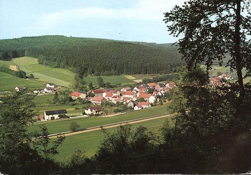 Ellingshausen in den 1980er Jahren