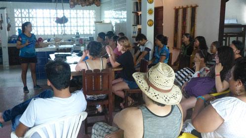 Capacitación en el Caribe colombiano (Coveñas). Noviembre de 2018