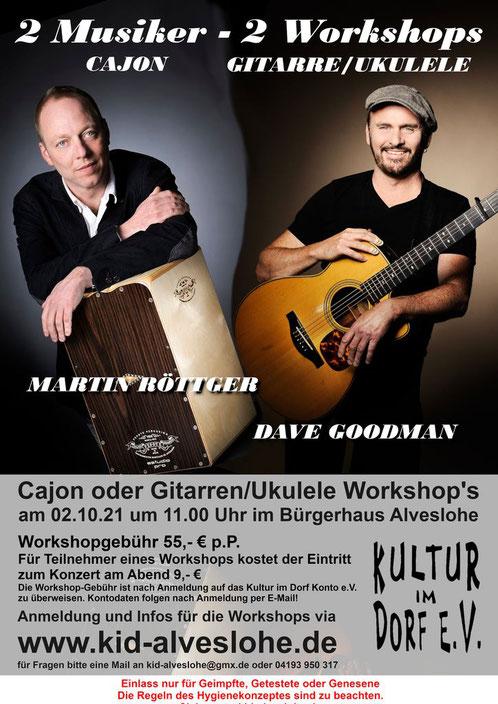 Dave Goodman & The Groove Minister Martin Roettger