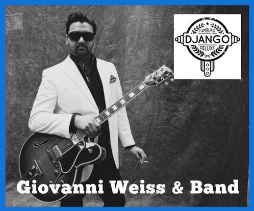 Givanni Weiss & Band am  06. Juni 2020  20.00 Uhr im  Bürgerhaus Alveslohe