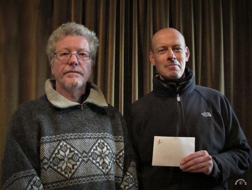 Turniersieger Thomas Herbst und Niko Ryll (NPC Kiel)