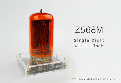 Z568M single digit NIXIE clock