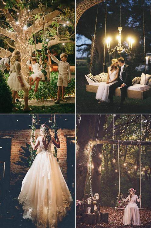 Decoración para bodas en jardines