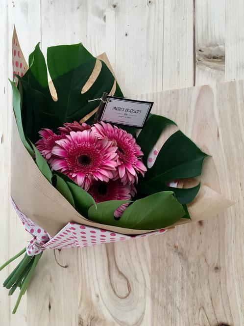 Bouquet Gerberas. romántico. San Valentín. MerciBouquet