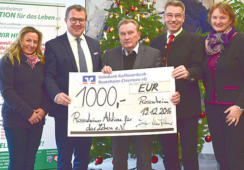 Weihnachtsgeschenke Brigitte.Spendenaktionen Die Helfen Rosenheimer Aktion Für Das Leben E V