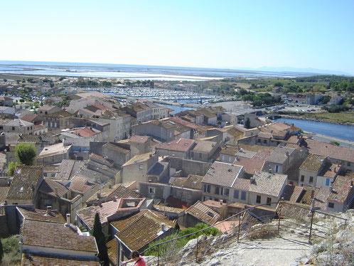 le village en rond de Gruissan