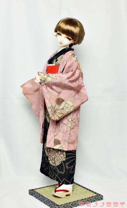 Super Dollfie kimono,SD 着物,ドルフィー 羽織