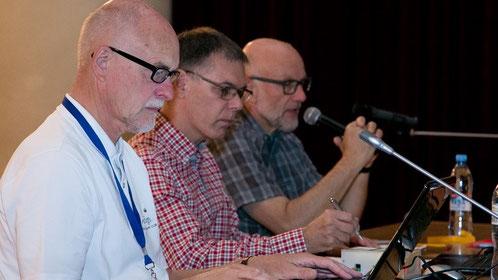 Jan Essing NLD, Thomas Kräuchi CHE, Rolf Leuenberger CHE