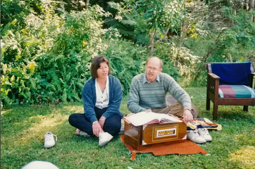 Jaye Baecher and John Connor ; Photo taken by George Fricker at Avatar's Abode June 2001