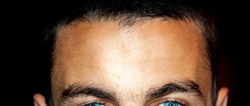 Le front dans la Bible. Le front désigne la partie supérieure du visage humain comprise entre la racine des cheveux et les sourcils, et s'étendant entre les deux tempes.