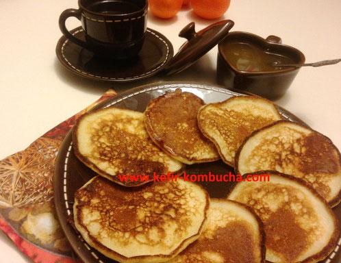 kefir de lait pancakes