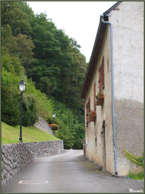 Ruelle au village d'Aas, Vallée d'Ossau (64)