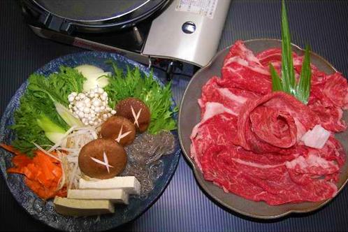 熊野牛のすき焼き