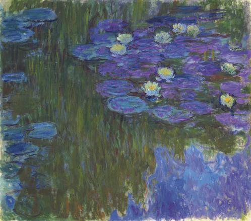 Самые дорогие картины Клода Моне. Кувшинки в цвету