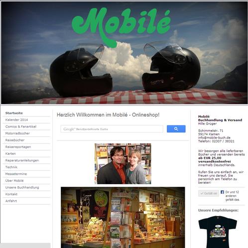 Der neuen motorradbuch-online.de - Shop für Motorradbücher