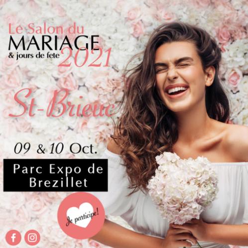 Salon du Mariage & jours de fête à Saint-Brieuc 9 et 10 Octobre 2021