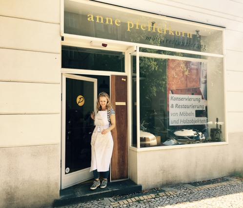 Anne Pfefferkorn - Möbelrestaurierung Berlin