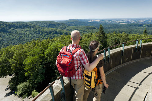 Panoramablick vom Hermannsdenkmal, Foto: A. Hub Teutoburger Wald Tourismus