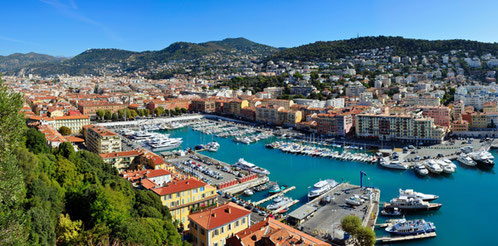Hafen Nizza, Bildquelle: Wikimedia Commons