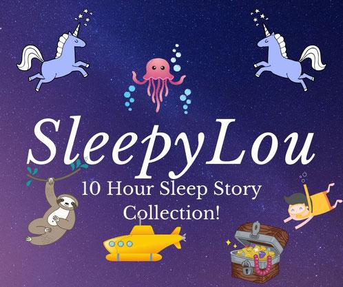 10 Hour Sleep Story Collection Image