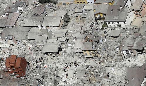 Amatrice dopo il Terremoto
