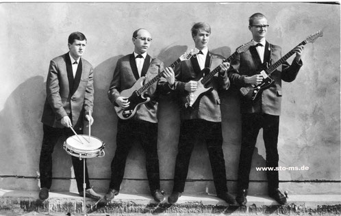 The Guitarmen 1963 - Foto Preker