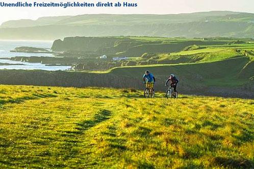 Aktivurlaub Bretagne Fahrradfahren, Tagestouren Finistere, Wanderwege