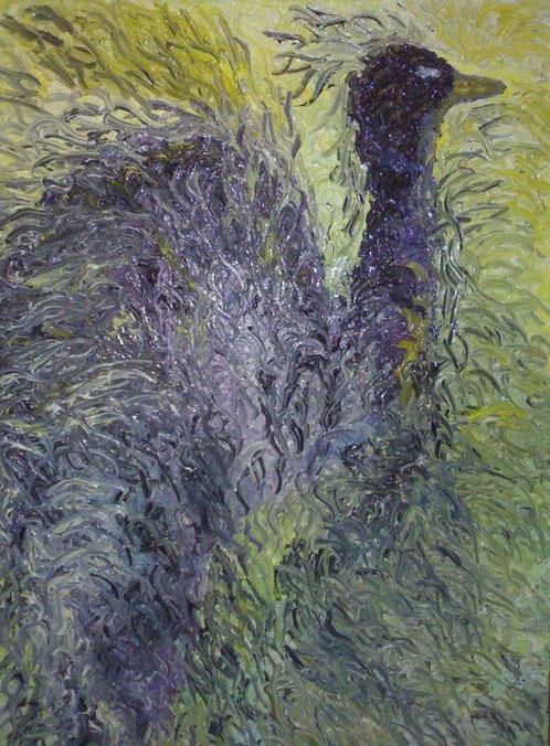 MATER  -2011 olio su tela 35 x 43