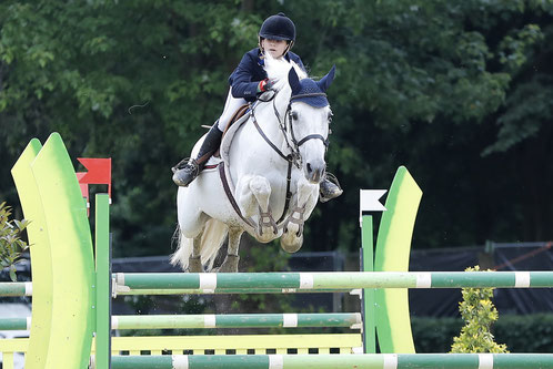Lily Engelsman en Whipped Cream, winnaars GP Children