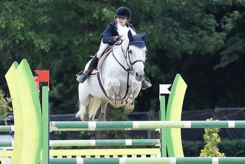 Lily Engelsman en Whipped Cream, winnaars GP Children