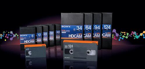 デジタイズ 映像変換 テープ変換 XDCAM HDCAM  Grass Valley HQX Apple final cut pro ProRes 422