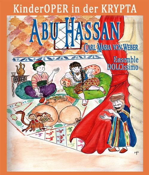 ABU HASSAN, KinderOPER in der KRYPTA