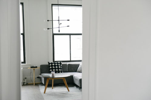 photo réalisation salon - rénovation de la maison à montpellier