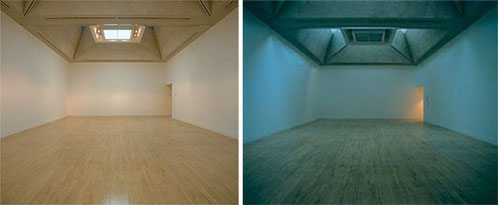"""Martin Creed, """"The lights going on and off"""""""
