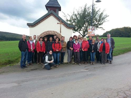 Die bereits traditionelle Fußwallfahrt nach St. Matthias fand dieses Jahr zum siebten Mal statt. Zum ersten Mal nahmen dabei Mitglieder aus der gesamten Pfarreiengemeinschaft Beckingen teil.