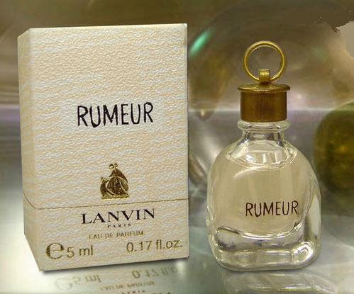 2006 - RUMEUR - MINIATURE 2ème EDITION - EAU DE PARFUM 5 ML