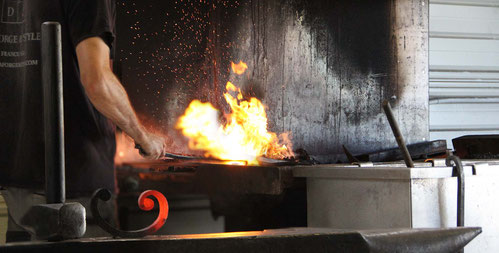 La forge de style Ferronnerie