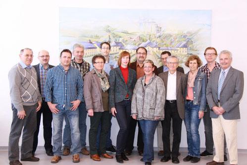 FWG Kandidaten im Sitzungssaal im DGH 2014