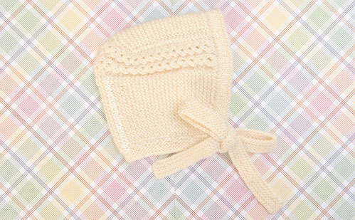 Gorro Princesa tejido en dos agujas o palitos para bebés!
