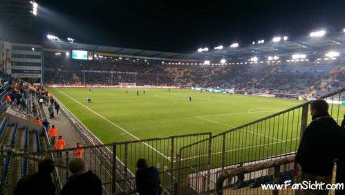 Sch 252 Co Arena Bielefeld Fansicht Dein Blick Aufs Spielfeld