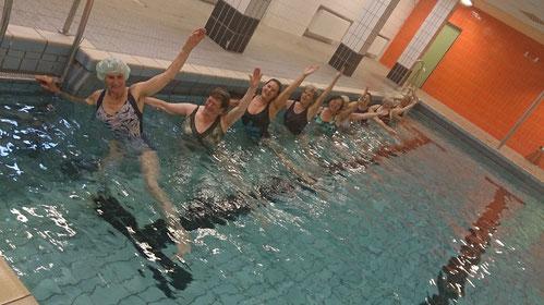 FWF-Wassergymnastik, 24. August 2015