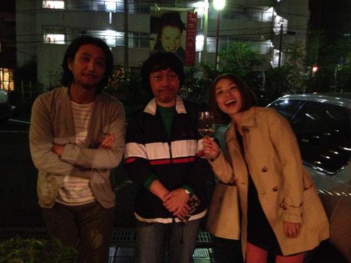 BE THE VOICEの和田純子、鈴木俊治と、